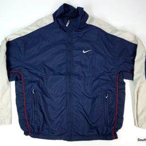 Vintage Nike Colorblock Lined Windbreaker Medium